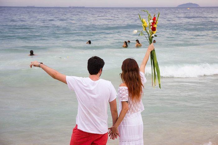Tradition porte-bonheur au Brésil : portez du blanc.