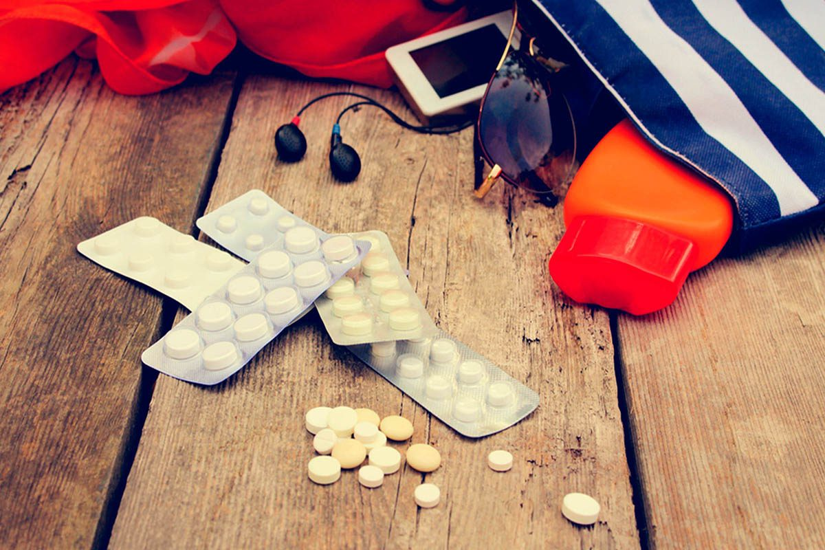 Pour le voyage, apportez des analgésiques.