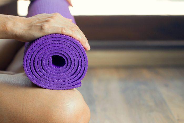 La laveuse peut servir à nettoyer votre matelas de yoga.