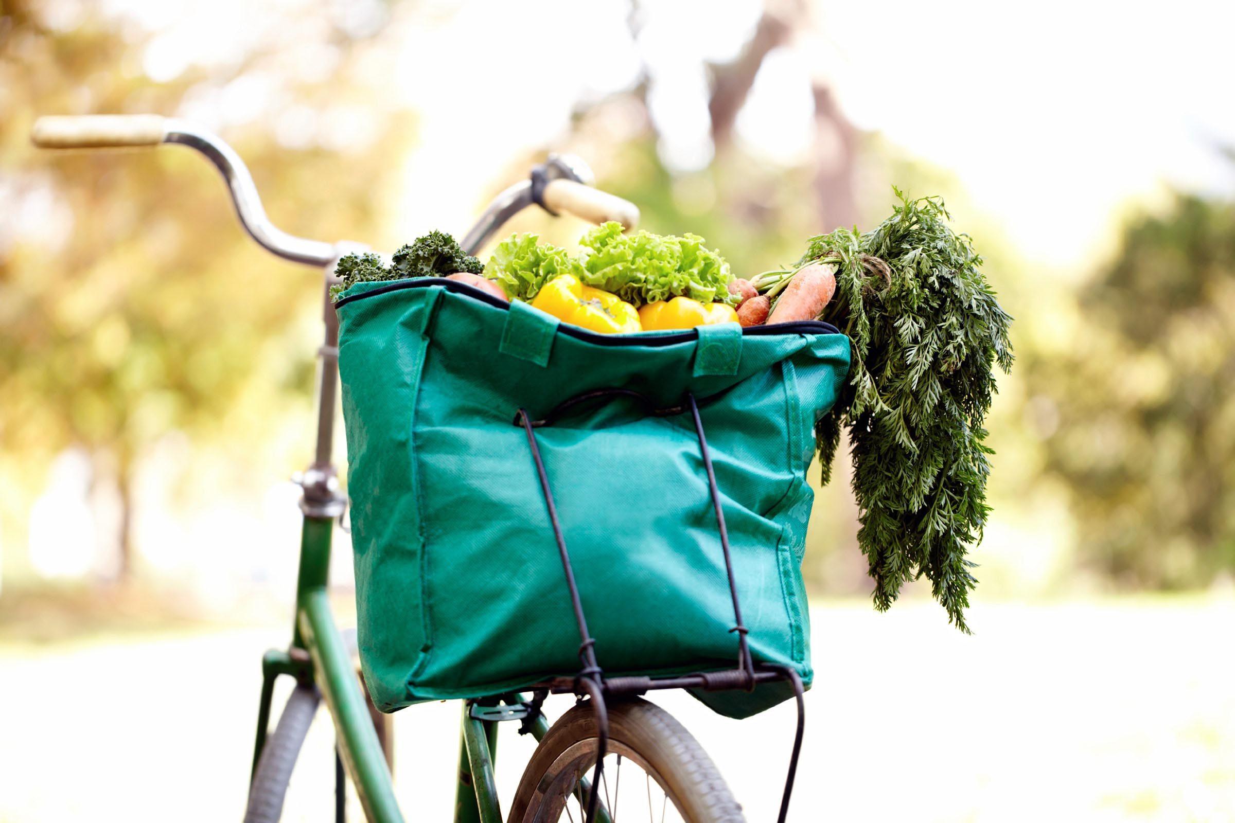 La laveuse peut servir à nettoyer vos sac réutilisables.