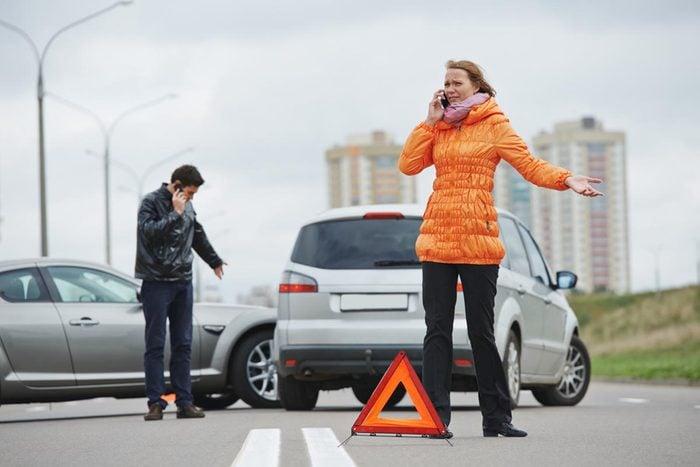 Si l'accident de voiture a lieu hors du Québec, suivez ces recommandations.