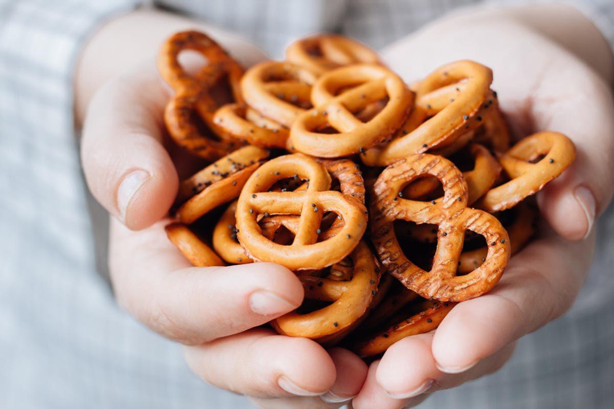 Aliment santé : les bretzels ne sont pas un choix sain.