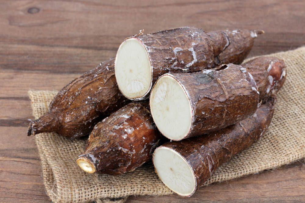 Aliments dangereux : assurez-vous de bien faire cuire les racines de manioc.