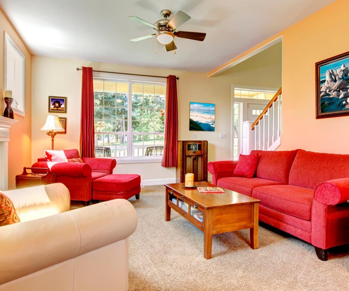 Aménagement intérieur : répartissez les meuble de façon équilibrée.