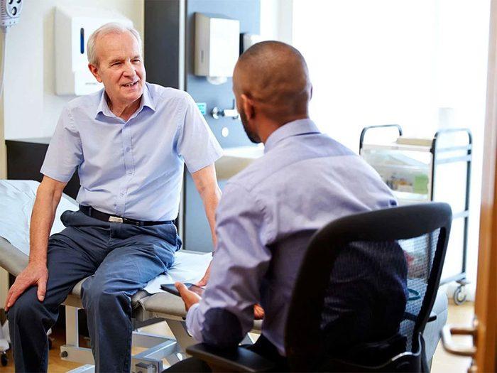 Passer régulièrement un bilan de santé fait partie des trucs anti-cancer à faire!