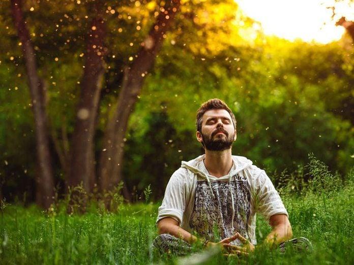Respirer pour soulager l'anxiété.