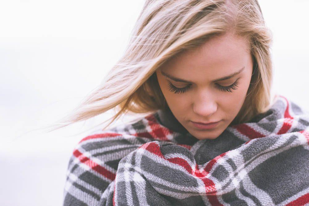 En cas d'anxiété, vos sens peuvent vous sauver.