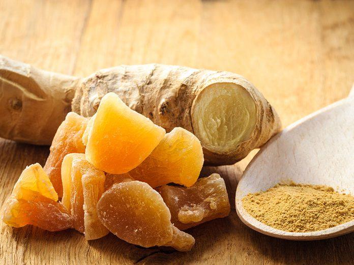 Bienfaits du gingembre: il pourrait guérir certains maux.