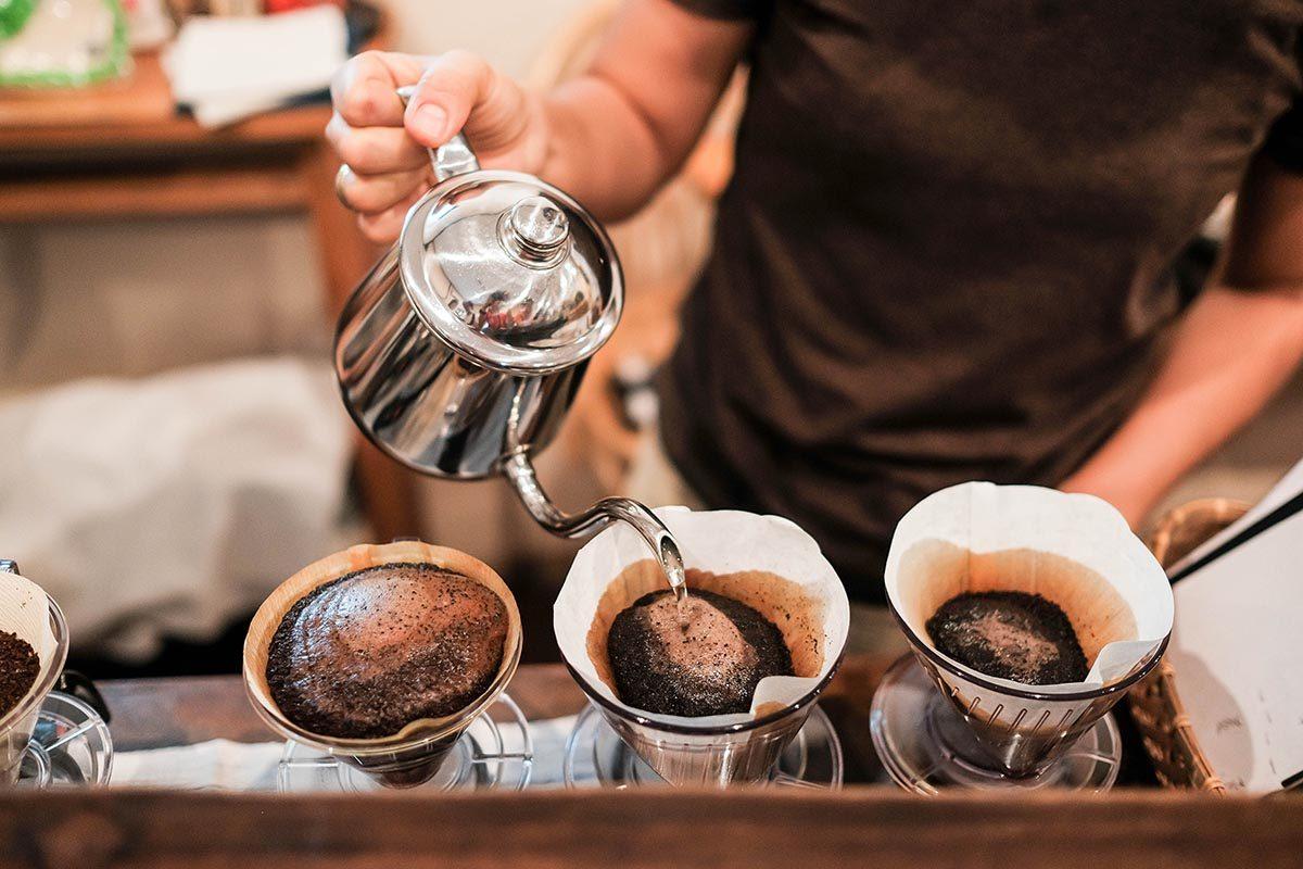 Le café doit être préparé avec la bonne quantité d'eau.