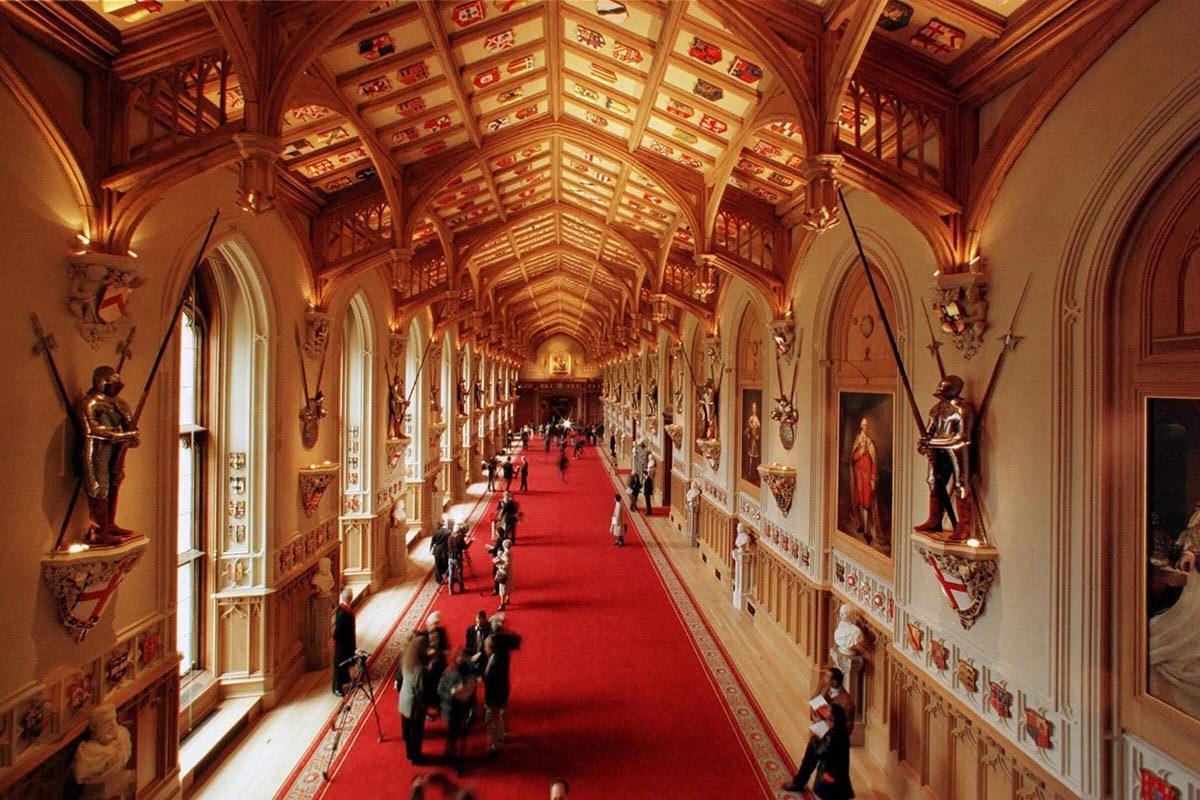 Le château de Windsor contient 379 horloges.