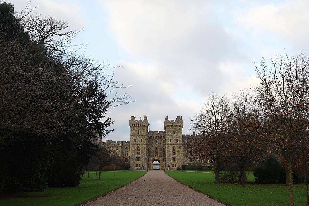 Le château de Windsor abrite des dépouilles de monarques.