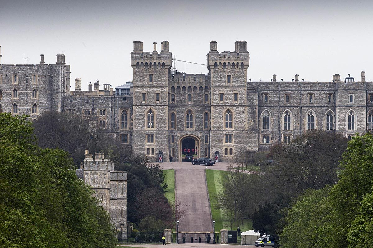 Le château de Windsor est vraiment énorme!