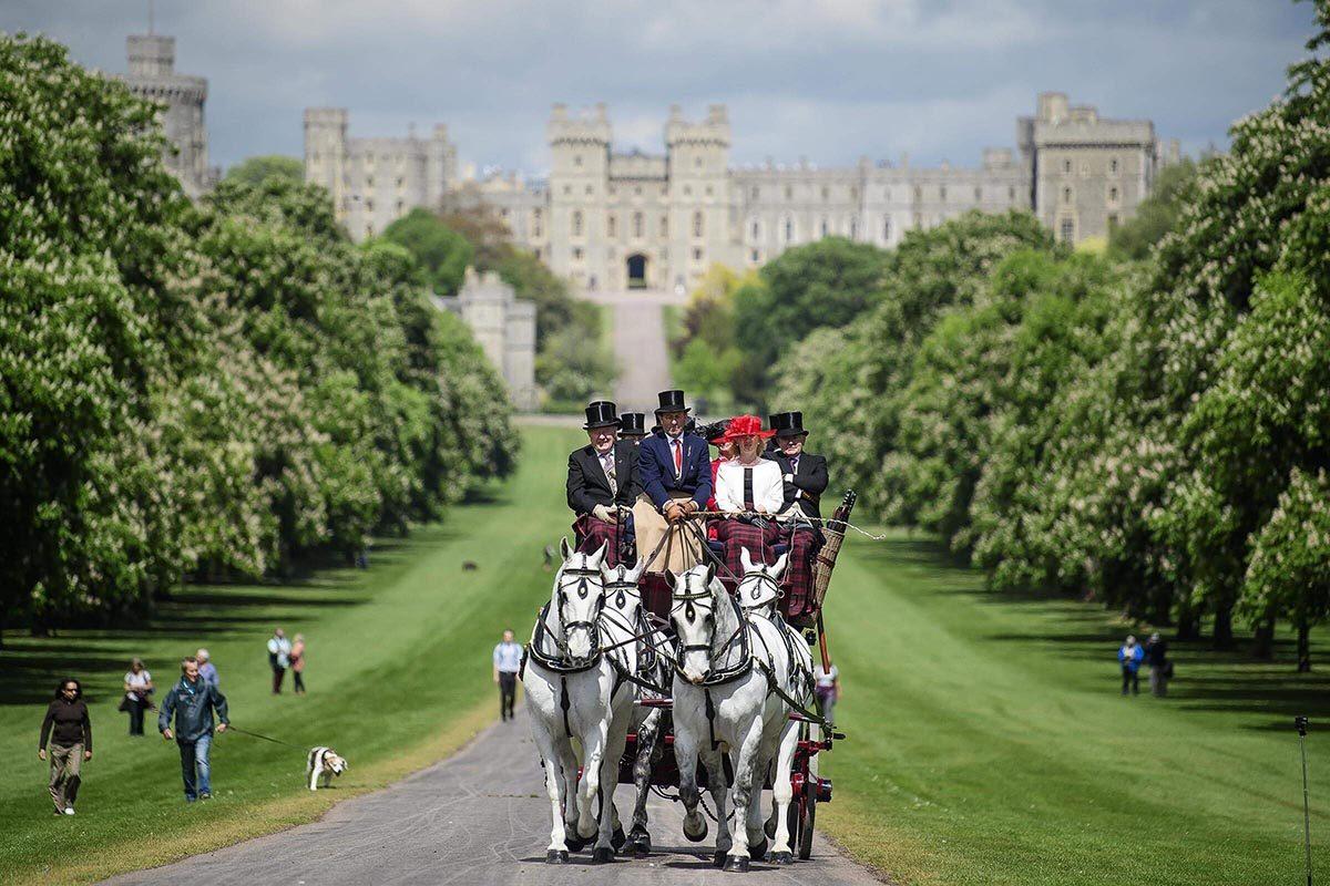 Le château de Windsor a connu de nombreux mariages royaux.