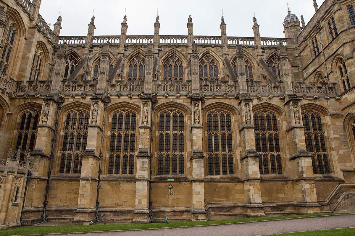Château de Windsor : sa plus grande pièce est une chapelle.