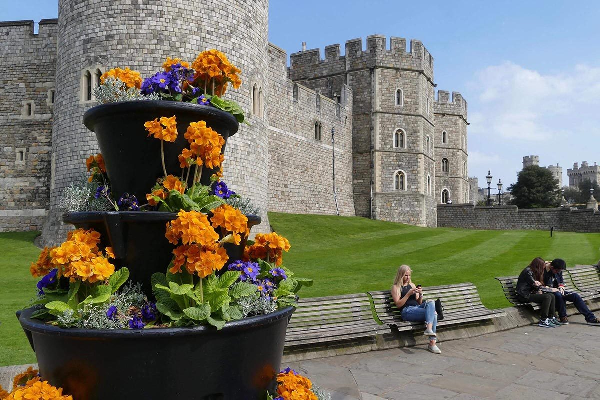 Le château de Windsor peut être visité.