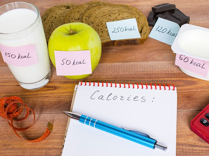 Comment calculer le nombre de calories à ingérer pour perdre du poids?