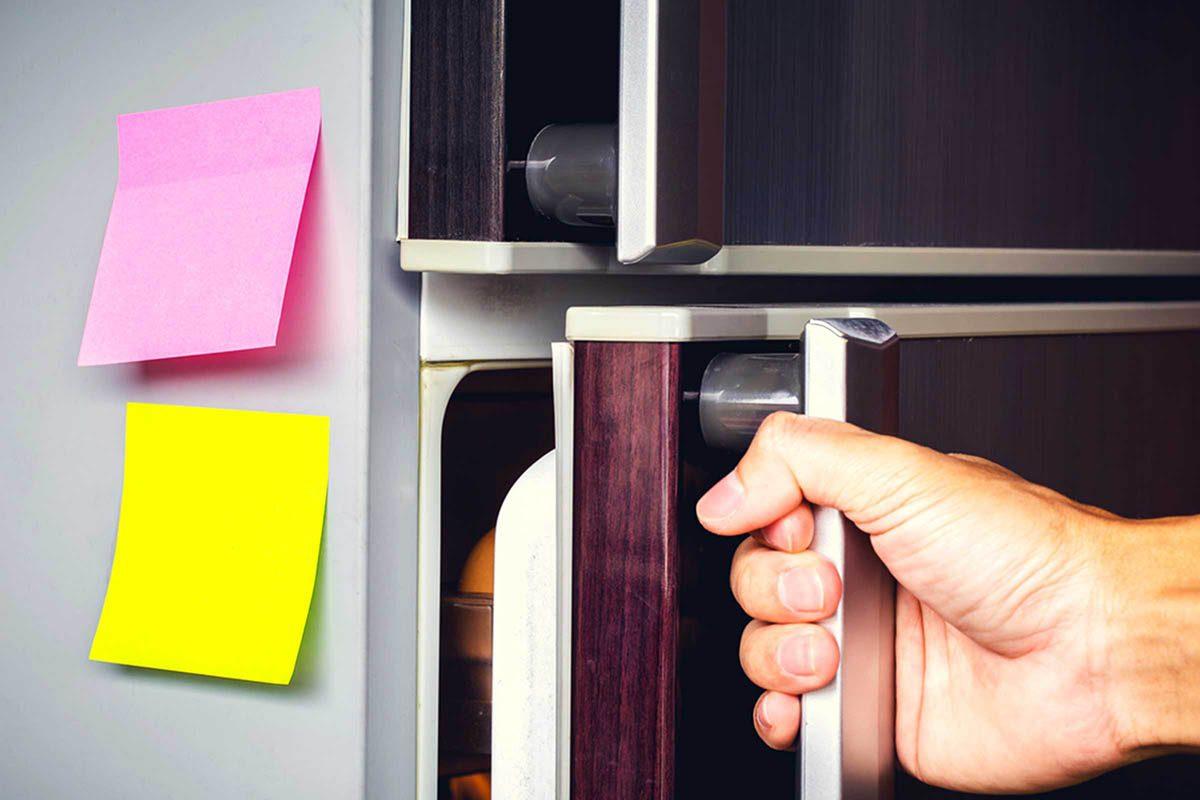 En cuisine, ne mettez pas vos aliments chauds dans le réfrigérateur.