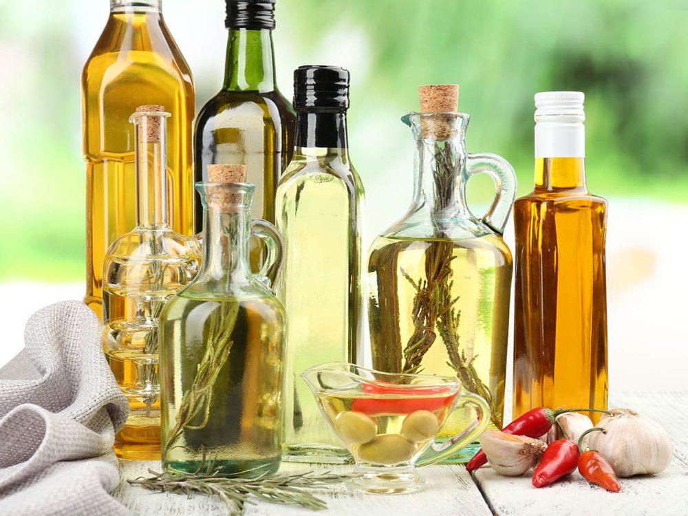 En cuisine, le choix de l'huile est important.