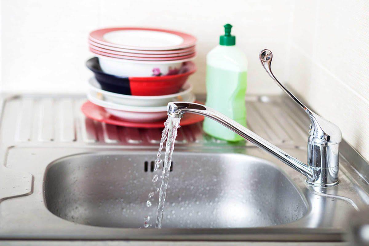 En cuisine, n'oubliez pas de nettoyer l'évier.
