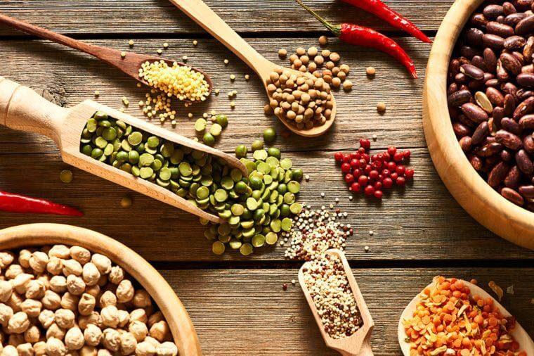 La date de péremption des légumes secs n'a pas besoin d'être respectée.