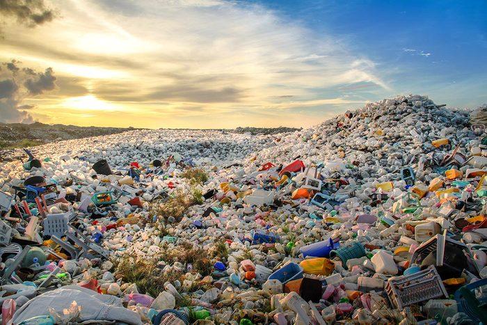 La plus grande vallée de déchets au Canada fait 130 hectares.