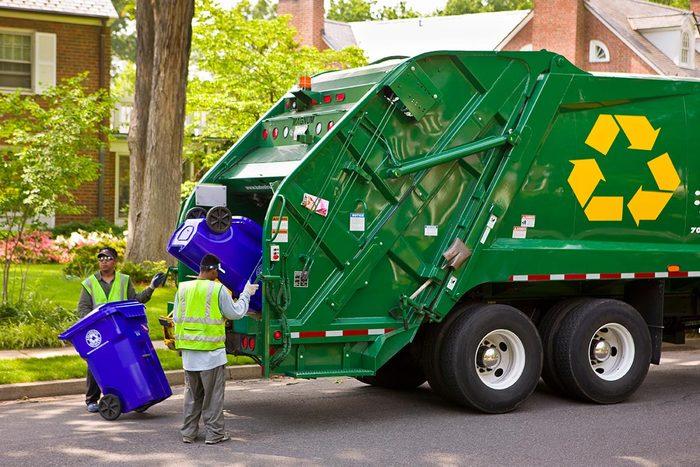 La collecte des déchets ne peut pas s'arrêter.