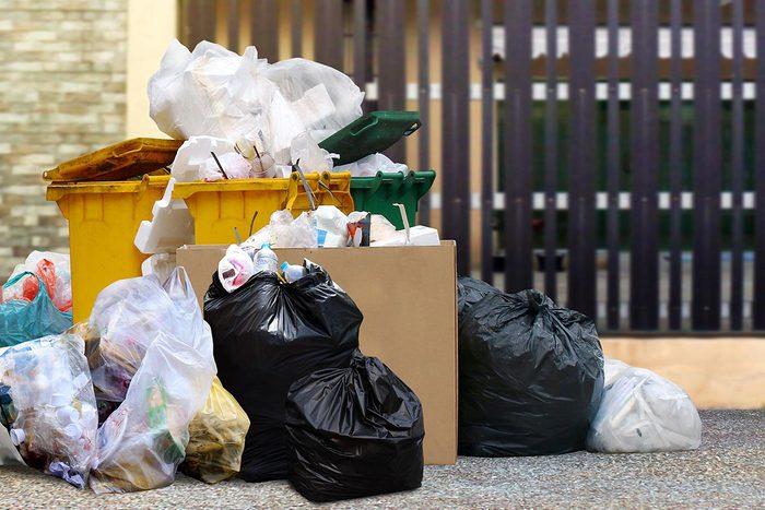 Chaque habitant produit 720kg de déchets par an.