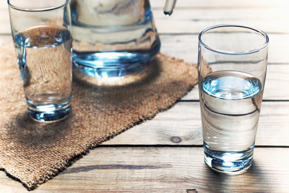 Vos dents peuvent être abîmées si vous ne buvez pas assez d'eau.