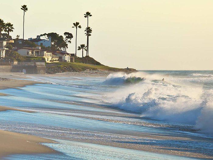 Destination au soleil : San Diego, en Californie.