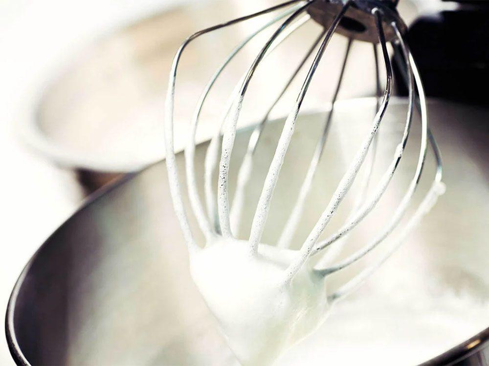 Erreur en cuisine: vous ne gardez pas les modes d'emploi.