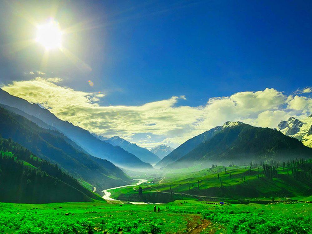Penser que le Cachemire fait partie de l'Inde est une erreur de géographie.