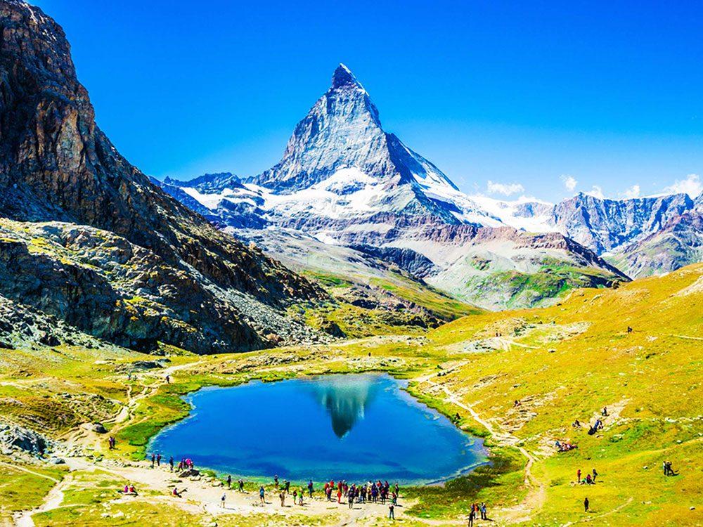 Penser que le Cervin (Matterhorn) est la plus haute montagne d'Europe est une erreur de géographie.