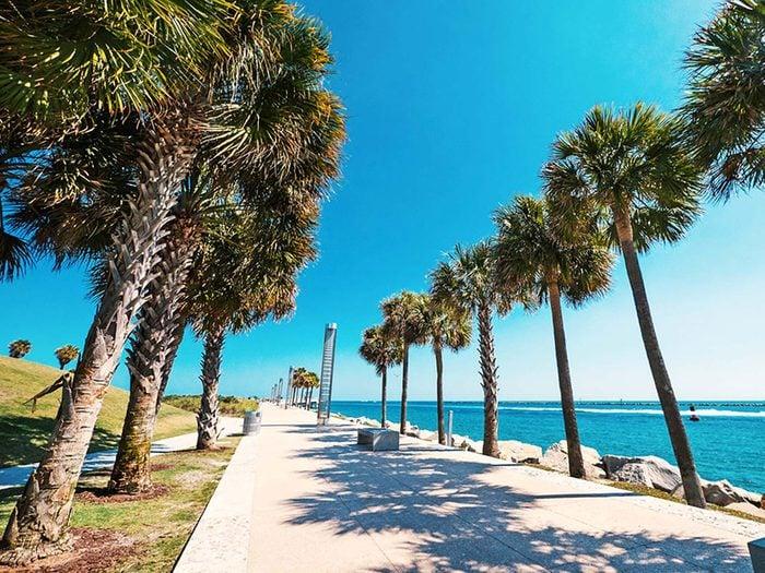 Penser que la Floride est l'état le plus au sud est une erreur de géographie.