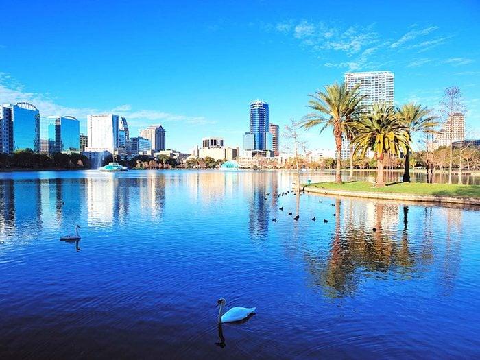 Penser qu'Orlando est la capitale de la Floride est une erreur de géographie.