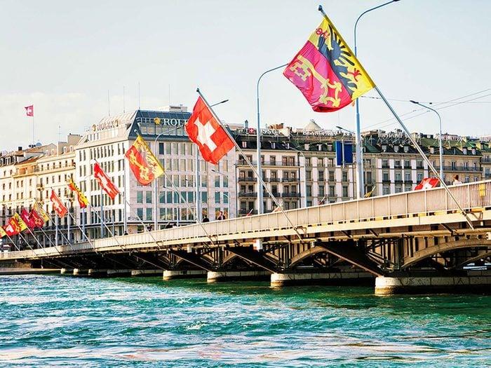 Penser que Genève est la capitale de la Suisse est une erreur de géographie.