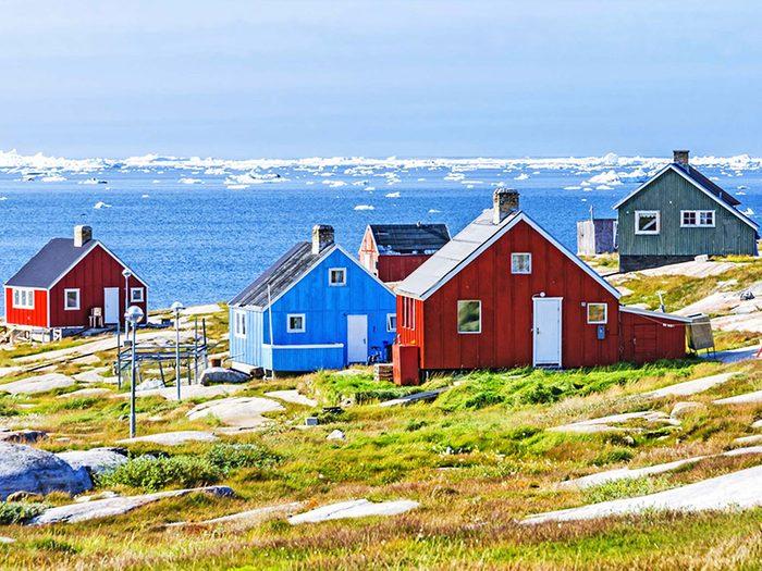 Penser que le Groenland est plus grand que l'Afrique est une erreur de géographie.