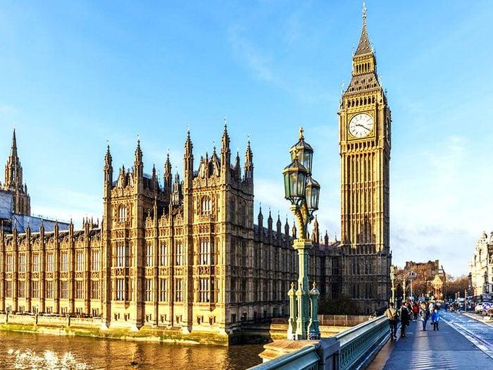 Penser que la Grande-Bretagne et le Royaume-Uni sont la même chose est une erreur de géographie.
