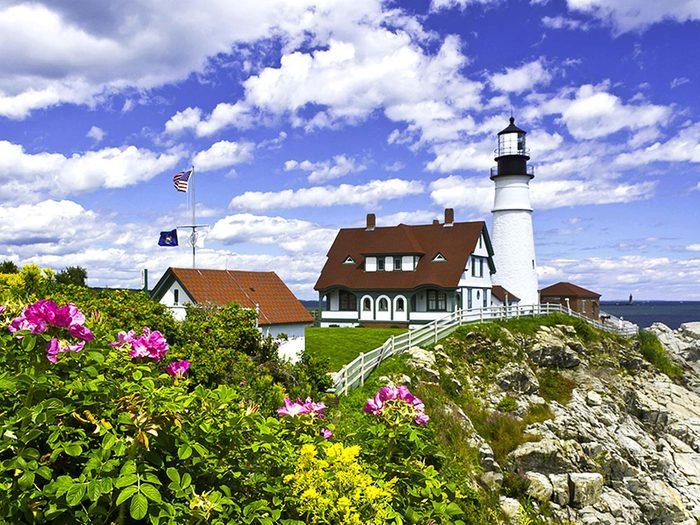 Penser que le Maine est l'état le plus à l'est est une erreur de géographie.