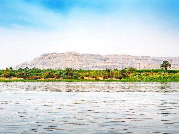 Penser que le Nil est le fleuve le plus long au monde est une erreur de géographie.