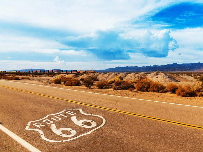 Penser que la route 66 est la plus longue autoroute aux États-Unis est une erreur de géographie.