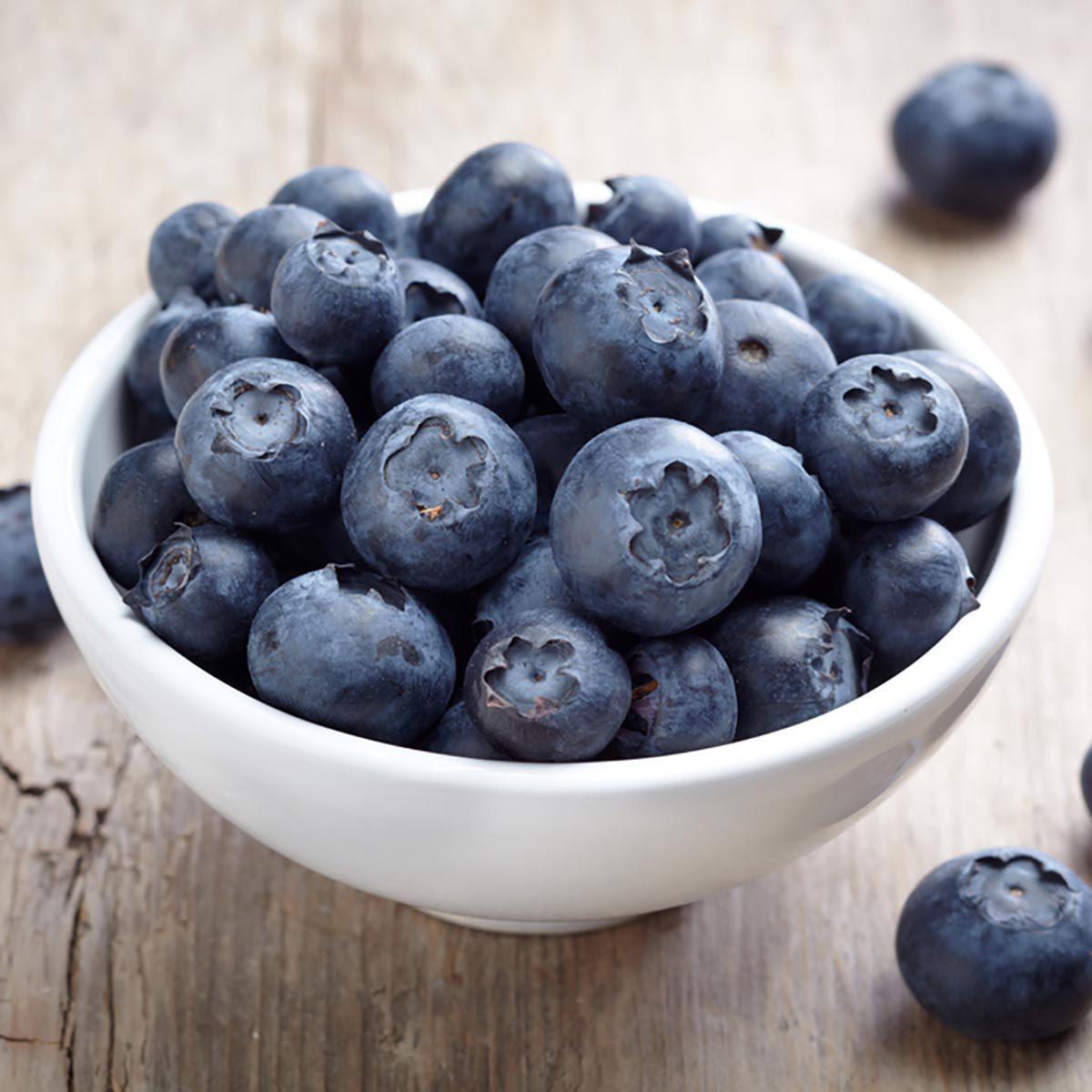 Les glucides des bleuets sont bons pour la santé.