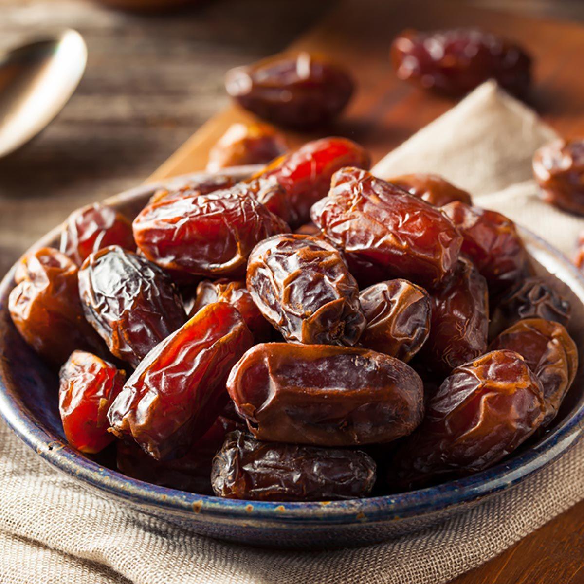 Les glucides des dattes sont bons pour la santé.