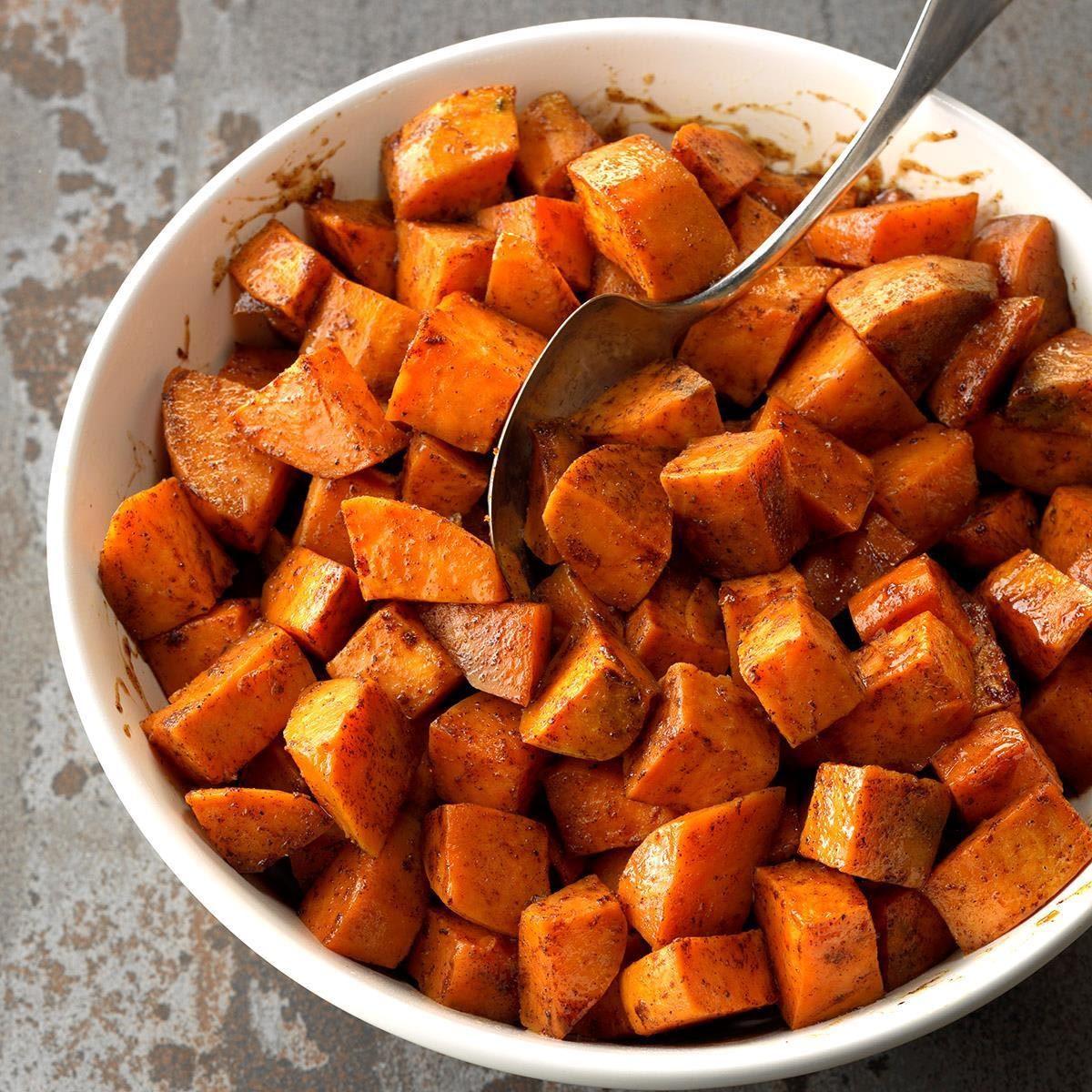 Les glucides des patates douces sont bons pour la santé.