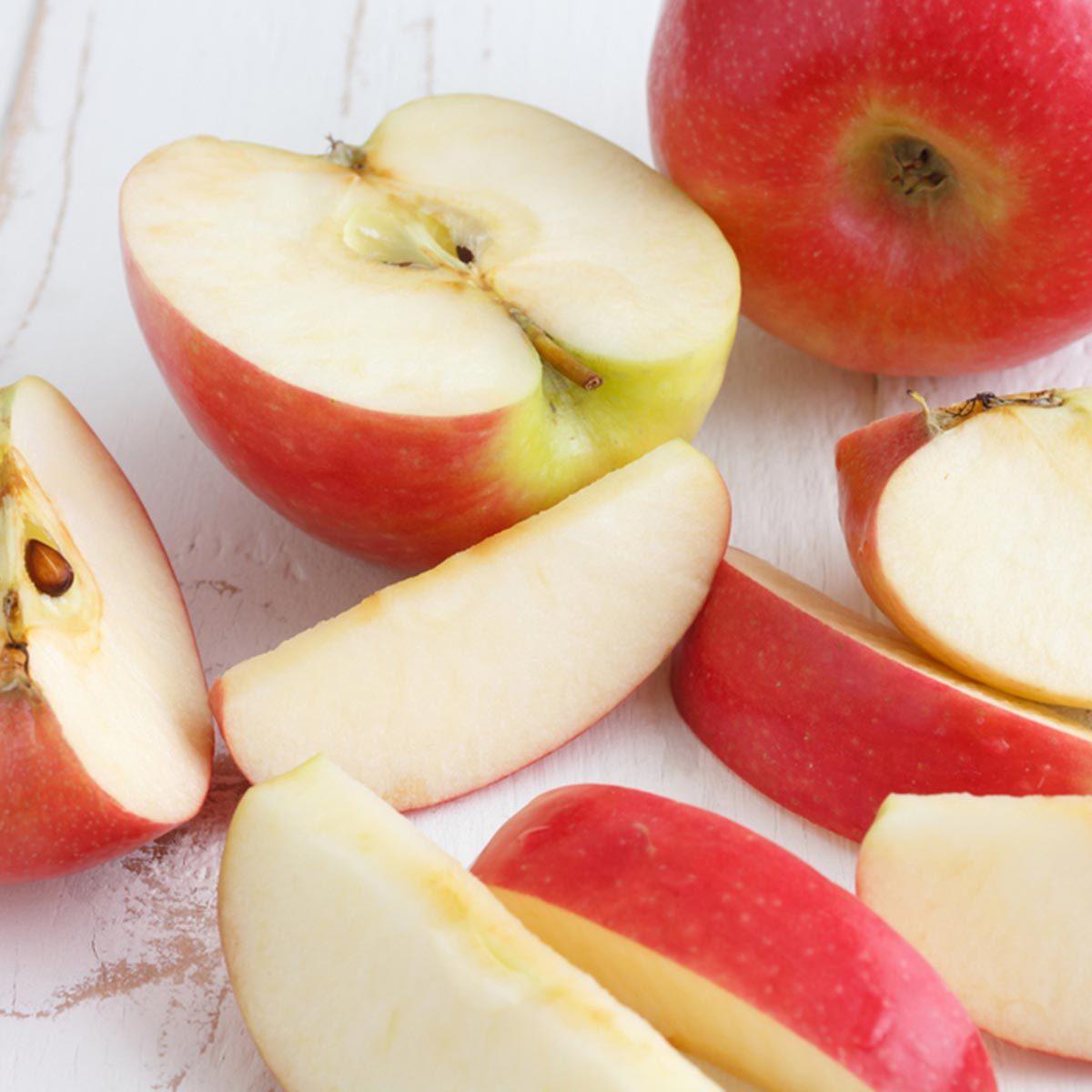 Les glucides des pommes sont bons pour la santé.
