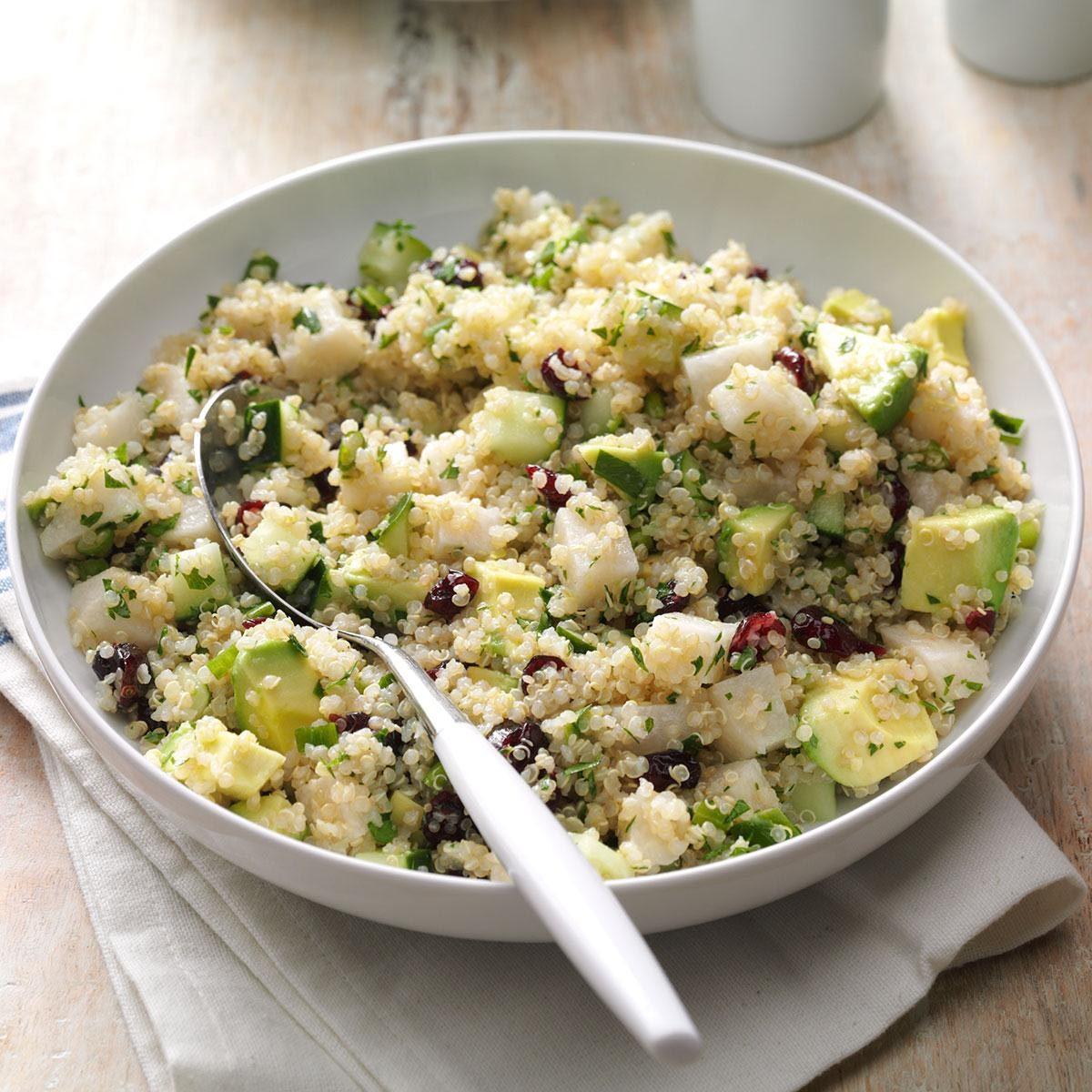 Les glucides du quinoa sont bons pour la santé.
