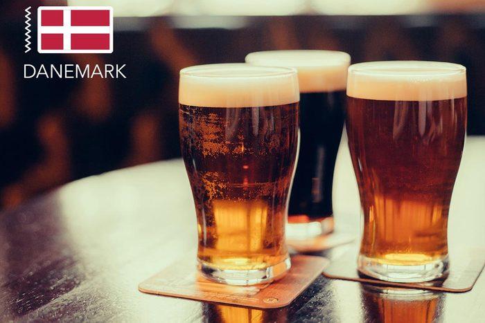 Gueule de bois : au Danemark buvez de la bière.