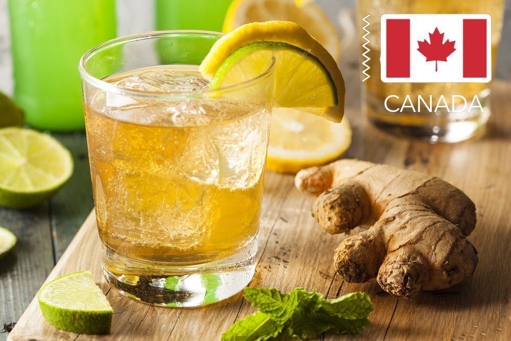 Gueule de bois : au Canada, buvez un Canada dry.