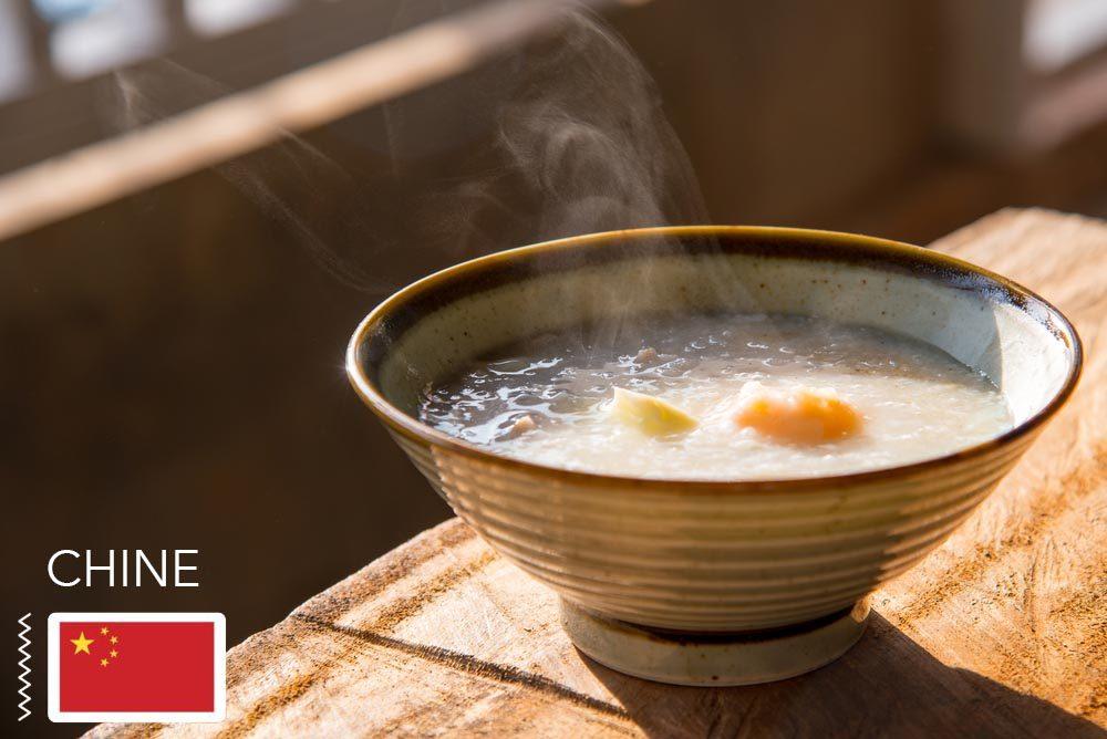 Gueule de bois : en Chine, mangez du congee.