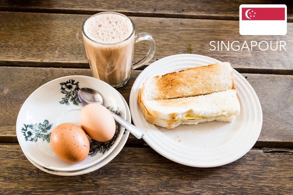 Gueule de bois : à Singapour mangez des rôties.