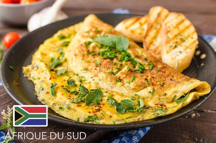 Gueule de bois : en Afrique du Sud, mangez une omelette aux oeufs d'autruches.